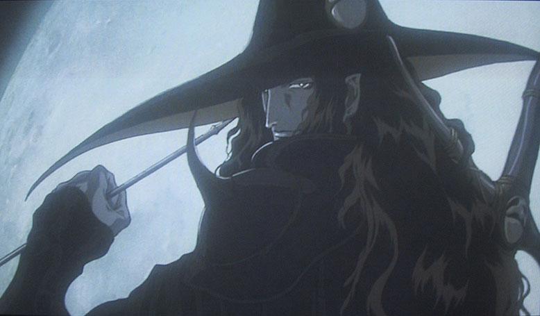 anime vampire hunter: